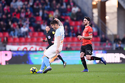 February 24, 2019 - Rennes, France - 15 DUJE CALETA CAR (OM) - 08 CLEMENT GRENIER  (Credit Image: © Panoramic via ZUMA Press)