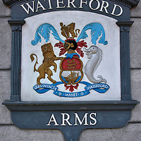Coat of Arms of Waterford, Ireland <br />