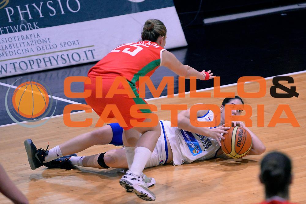 DESCRIZIONE : Roma Amichevole Pre Eurobasket 2015 Nazionale Italiana Femminile Senior Italia Ungheria Italy Hungary<br /> GIOCATORE : Maddalena Gaia Gorini<br /> CATEGORIA : equilibrio a terra sequenza<br /> SQUADRA : Italia Italy<br /> EVENTO : Amichevole Pre Eurobasket 2015 Nazionale Italiana Femminile Senior<br /> GARA : Italia Ungheria Italy Hungary<br /> DATA : 16/05/2015<br /> SPORT : Pallacanestro<br /> AUTORE : Agenzia Ciamillo-Castoria/Max.Ceretti<br /> Galleria : Nazionale Italiana Femminile Senior<br /> Fotonotizia : Roma Amichevole Pre Eurobasket 2015 Nazionale Italiana Femminile Senior Italia Ungheria Italy Hungary<br /> Predefinita :