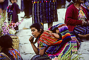 """Chichicastenango. Twice a week """"Chichi"""" hosts the most famous Indian market in the entire Maya region."""