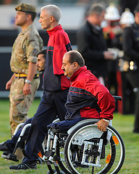 Members of the Afghanistan team start the parade - Photo mandatory by-line: Joe Meredith/JMP - Mobile: 07966 386802 - 11/09/14 - The Invictus Opening Ceremony - London - Queen Elizabeth Olympic Park
