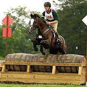 Waylon Roberts at the 2005 North American Young Rider Championships in Lexington, Virginia.