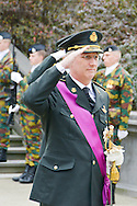 King Philip of Belgium in Brussels as part of the commemoration of the Armistice of November 11 and the solemn commemoration of the victims of the two world wars and peace operations and humanitarian abroad since 1945 to the unknown soldier. Brussels in the presence of ministers and authorities. Brussels, 11 november 2015