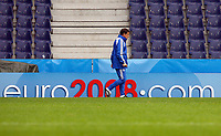 GEPA-1706086800 - SALZBURG,AUSTRIA,17.JUN.08 - FUSSBALL - UEFA Europameisterschaft, EURO 2008, Nationalteam Griechenland, Abschlusstraining. Bild zeigt Teamchef Otto Rehhagel (GRE). <br />Foto: GEPA pictures/ Felix Roittner