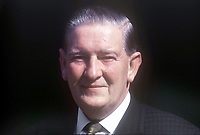 George Lavery, Roman Catholic member, Scarman Tribunal, set up to investigate Violence and Civil Disturbances in Northern Ireland in 1969. September 1969. 196909000251<br /> <br /> Copyright Image from Victor Patterson, 54 Dorchester Park, Belfast, UK, BT9 6RJ<br /> <br /> t1: +44 28 9066 1296 (from Rep of Ireland 048 9066 1296)<br /> t2: +44 28 9002 2446 (from Rep of Ireland 048 9002 2446)<br /> m: +44 7802 353836<br /> <br /> victorpattersonbelfast@gmail.com<br /> victorpatterson@me.com<br /> <br /> www.victorpatterson.com<br /> <br /> Please see my Terms and Conditions of Use at https://www.victorpatterson.com/page2<br /> It is IMPORTANT that you familiarise yourself with them.<br /> <br /> Images used on the Internet incur an additional cost and must be visibly watermarked i.e. © Victor Patterson within the body of the image and copyright metadata must not be deleted. Images used on the Internet have a size restriction of 4kbs and are chargeable at rates available at victorpatterson.com.<br /> <br /> This image is available only for the use of the download recipient i.e. television station, newspaper, magazine, book publisher, etc, and must not be passed on to any third party. It is also downloaded on condition that each and every usage is notified within 7 days to victorpatterson@me.com<br /> <br /> The right of Victor Patterson (or the named photographer) to be identified as the author is asserted in accordance with The Copyright Designs And Patents Act (1988). All moral rights are asserted.