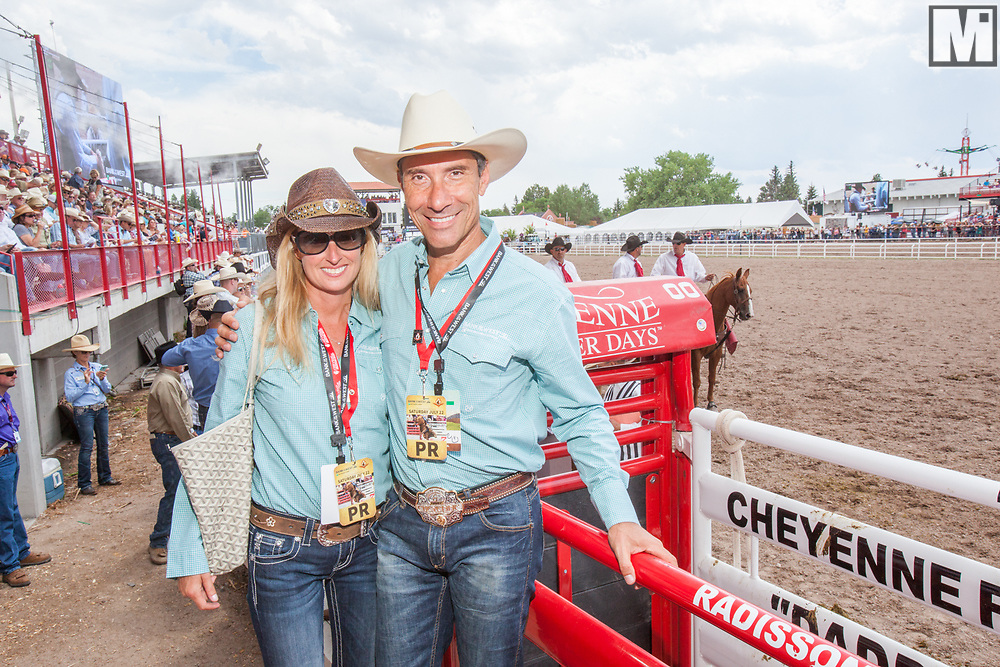 Bank of the West Events at Cheyenne Frontier Days on July 22, 2017.