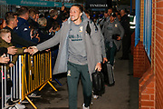 Leeds United defender Luke Ayling (2) arrives during the EFL Sky Bet Championship match between Leeds United and West Bromwich Albion at Elland Road, Leeds, England on 1 October 2019.