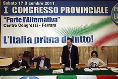 20111217 CONGRESSO PDL FERRARA