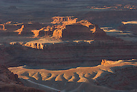 Sunrise view from overlook at Dead Horse Point State Park Utah