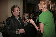 Nicky Haslam, Hilary Alexander and Olivia Inge, Westfield Launch and BFC celebrate Fashion Forward. Home House, Portman Sq. London. 30 January 2007.  -DO NOT ARCHIVE-© Copyright Photograph by Dafydd Jones. 248 Clapham Rd. London SW9 0PZ. Tel 0207 820 0771. www.dafjones.com.