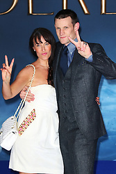 © Licensed to London News Pictures. 19/03/2015, UK. Laura Jayne Smith, Matt Smith, Cinderella - UK film premiere, Leicester Square, London UK, 19 March 2015. Photo credit : Richard Goldschmidt/Piqtured/LNP