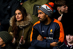 Marco Mama of Worcester Warriors watches his side take on Northampton Saints - Mandatory by-line: Robbie Stephenson/JMP - 26/10/2019 - RUGBY - Franklin's Gardens - Northampton, England - Northampton Saints v Worcester Warriors - Gallagher Premiership Rugby