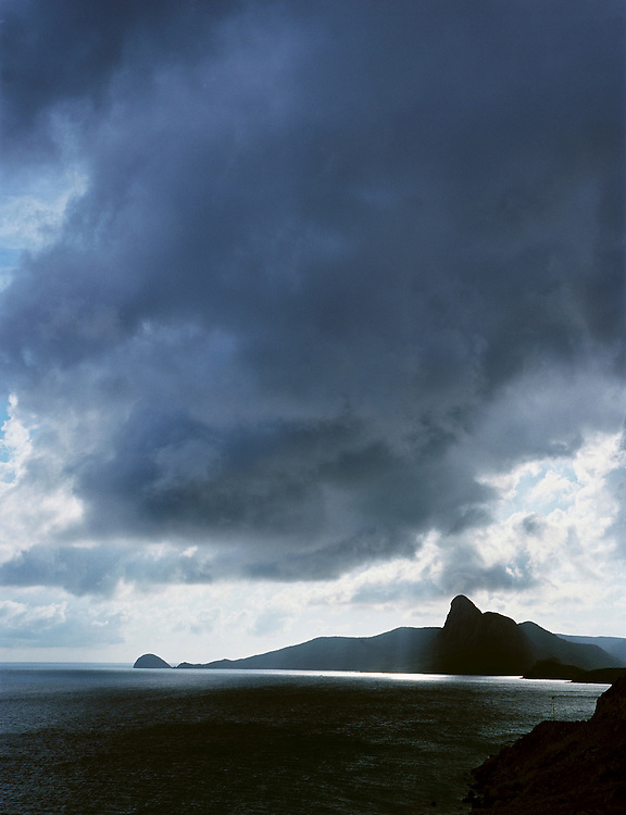 Con Dao's most dramatic peak, 341-meter Dinh Tinh Yeu (The Lovers) on Hon Ba Island..