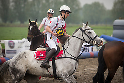 Van Herreweghe Axel, BEL, Princess Querda<br /> BK Horseball 2018<br /> © Sharon Vandeput<br /> 15:38:36