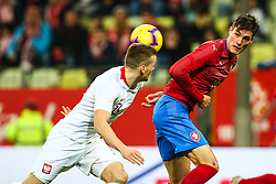 November 15, 2018 - Gdansk, Poland - Matej Vydra of Czech Republic during the international friendly soccer match between Poland and Czech Republic at Energa Stadium in Gdansk, Poland on 15 November 2018. (Credit Image: © Foto Olimpik/NurPhoto via ZUMA Press)