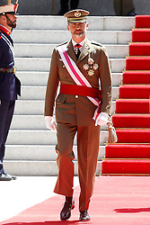 06.06.2015, Plaza de la Lealtad, Madrid, ESP, Armed Forces Day Ceremony 2015, im Bild King Felipe VI of Spain // during the Armed Forces Day Ceremony 2015 at the Plaza de la Lealtad in Madrid, Spain on 2015/06/06. EXPA Pictures © 2015, PhotoCredit: EXPA/ Alterphotos/ Acero<br /> <br /> *****ATTENTION - OUT of ESP, SUI*****