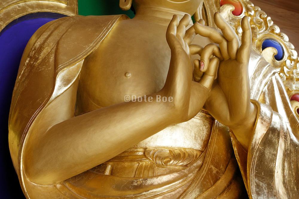 Tibetan build Buddha at Saihouji  in Nagano Japan