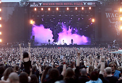 07.08.2010, Wacken Open Air 2010, Wacken, GER, 3.Tag beim 21.Heavy Metal Festival volles Haus und totale Begeisterung, EXPA Pictures © 2010, PhotoCredit: EXPA/ nph/  Kohring+++++ ATTENTION - OUT OF GER +++++ / SPORTIDA PHOTO AGENCY