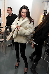 Actress KATE McGOWAN at a party to celebrate the launch of the Bobbi Brown Makeup Manual held at the Getty Images Gallery, 46 Eastcastle Street, London W1 on 29th January 2009.