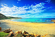 Shelley Beach located at Nambucca Heads NSW Australia.