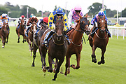 MUSIC SEEKER (12) ridden by Cian Macredmond and trained by Declan Carroll winning The Constant Security Handicap Stakes over 1m 2f (£15,000)  during the Midsummer Raceday held at York Racecourse, York, United Kingdom on 14 June 2019.