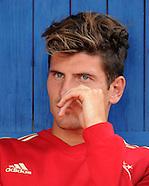 Fussball Bundesliga 2011/12: Testspiel FC Bayern Muenchen