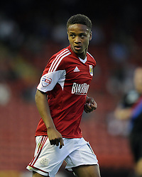 Bristol City's Bobby Reid  - Photo mandatory by-line: Joe Meredith/JMP - Tel: Mobile: 07966 386802 27/08/2013 - SPORT - FOOTBALL - Ashton Gate - Bristol - Bristol City V Crystal Palace -  Capital One Cup - Round 2