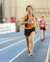 USATF Masters Indoor Track & Field Championships; Kathryn Martin, USA, sets new World Indoor Mile record for women age group 60-64