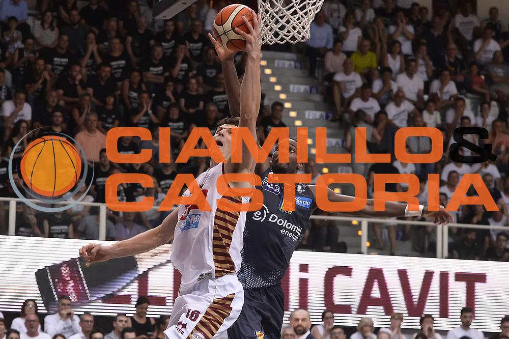 Benjamin Ortner<br /> Dolomiti Energia Aquila Basket Trento - Umana Reyer Venezia<br /> Playoff Gara 4<br /> Lega Basket 2016/2017<br /> Trento 16/06/2017<br /> Foto Ciamillo-Castoria