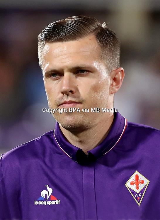 Italian League Serie A -2016-2017 / <br /> ( ACF Fiorentina ) - <br /> Josip Ilicic