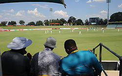 Johannesburg 19-12-18. South Africa Invitation XI vs Pakistan. Pakistan open their tour of South Africa with a three-day match at Sahara Willowmoore Park, Benoni.   Cricket fans watch the afternoon session on day 1. Picture: Karen Sandison/African News Agency(ANA)
