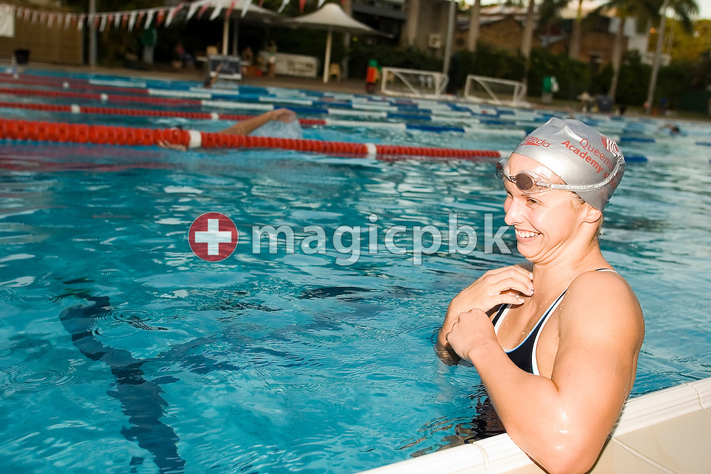 Lisbeth (Libby) LENTON of Australia is pictured during a training session in the Valley Swimming Pool in Fortitude Valley, Brisbane, Australia, Monday, March 12, 2007. (Photo by Patrick B. Kraemer / MAGICPBK)