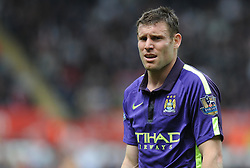 Manchester City's James Milner - Photo mandatory by-line: Alex James/JMP - Mobile: 07966 386802 - 17/05/2015 - SPORT - Football - Swansea - The Liberty stadium - Swansea City v Manchester City - Barclays premier league
