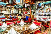 Interior do Restaurante Ostradamus, no Ribeirão da Ilha. Florianópolis, Santa Catarina, Brazil. / Interior of Ostradamus Restaurant, at Ribeirao da Ilha district. Florianopolis, Santa Catarina, Brazil.