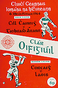 All Ireland Senior Hurling Championship Final,.06.09.1964, 09.06.1964, 6th September 1964,.Minor Cork v Laois, .Senior Kilkenny v Tipperary, Tipperary 5-13 Kilkenny 2-08,.06091964AISHCF,