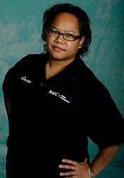 08-10-2009 VOLLEYBAL: PHOTOSHOOT SSS: BARNEVELD<br /> Photoshoot SSS A League seizoen 2009 - 2010 / Christien Timorason<br /> ©2009-WWW.FOTOHOOGENDOORN.NL