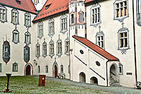 Benedictine Monastery of St Mang Baroque Church Fussen Germany by Bethlehem Lehigh Valley Photographer Jacqueline C Agentis