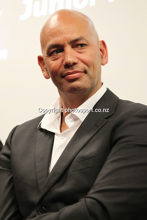 Tony Iro at the 2012 New Zealand Rugby League Awards at Westpac House, Britomart, Auckland Wednesday, November 7