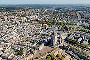 Nederland, Gelderland, Arnhem, 30-09-2015; zicht op de binnenstad van Arnhem.<br /> <br /> View of the city of Arnhem.<br /> luchtfoto (toeslag op standard tarieven);<br /> aerial photo (additional fee required);<br /> copyright foto/photo Siebe Swart