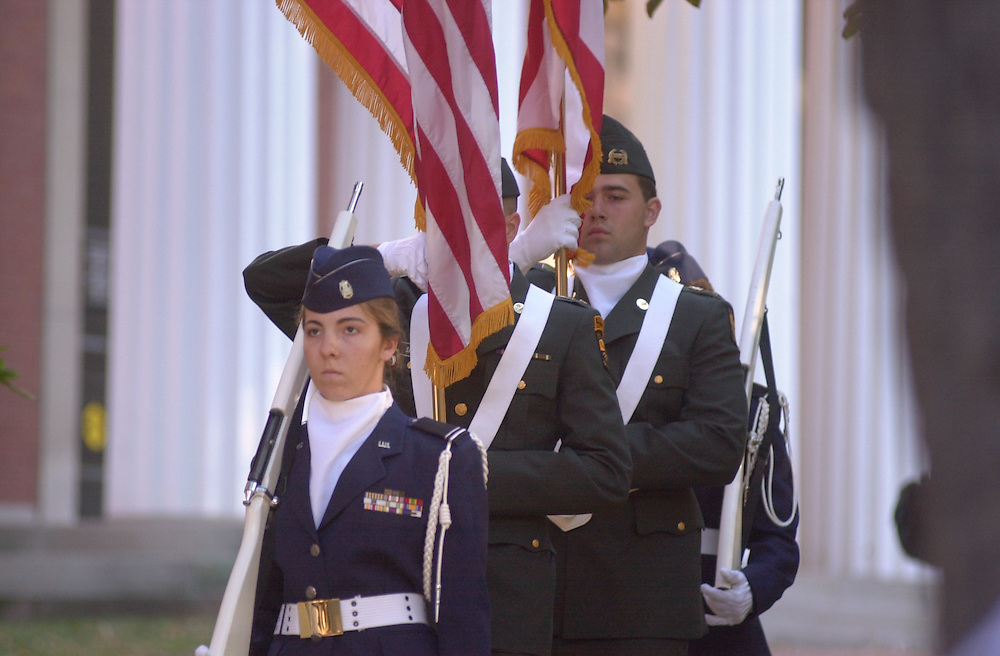 154989/11 Memorial 2002 one year since attacks Ceremony & Vigil, Heather Clark leads.. Brian Zeit