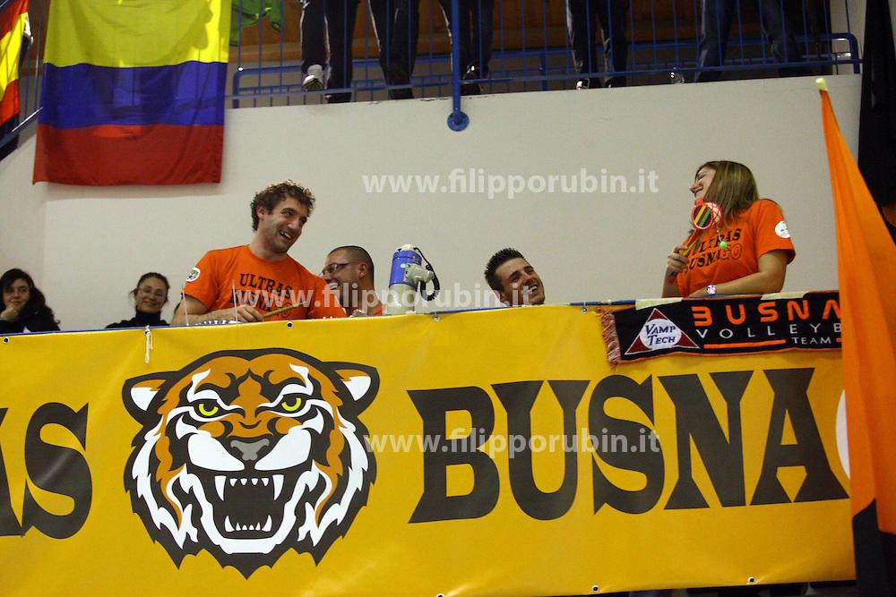 DAHLIA TV BUSNAGO - ESSE-TI LORETO VOLLEY.CAMPIONATO ITALIANO PALLAVOLO SERIE A1-F 2010-2011.BUSNAGO (MI) 27-02-2011.FOTO FILIPPO RUBIN / LVF