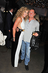 KELLY HOPPEN and SID OWEN at a party to celebrate the Kelly Hoppen and Smallbone kitchen range held at The Collection, 264 Brompton Road, London on 24th September 2012.
