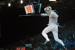 03.08.2012, ExCeL Exhibition Centre, London, GBR, Olympia 2012, Fechten, im Bild Aldo MONTANO // during fencing, at the 2012 Summer Olympics at ExCeL Exhibition Centre, London, United Kingdom on 2012/08/03. EXPA Pictures © 2012, PhotoCredit: EXPA/ Insidefoto/ Giovanni Minozzi      ***** ATTENTION - for AUT, SLO, CRO, SRB, SUI and SWE only *****