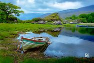 lake in the Macgillycuddy's Reeks