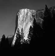 El Capitan in the first light of dawn at Yosemite National Park, California, USA