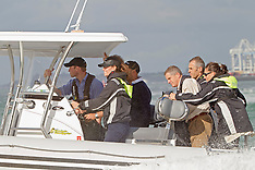 Auckland- Royal Visit, Sealegs Trip