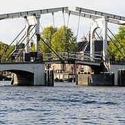 NLD/Amsterdam/20120812 - Varen door de Amsterdamse grachten, Magere Brug