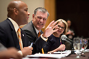 Dallas Mayor Mike Rawlings speaks in the Educational Excellence Task Force meeting during the United States Conference of Mayors 82nd annual meeting at the Omni Hotel in Dallas, Texas on June 20, 2014.  (Cooper Neill for The New York Times)