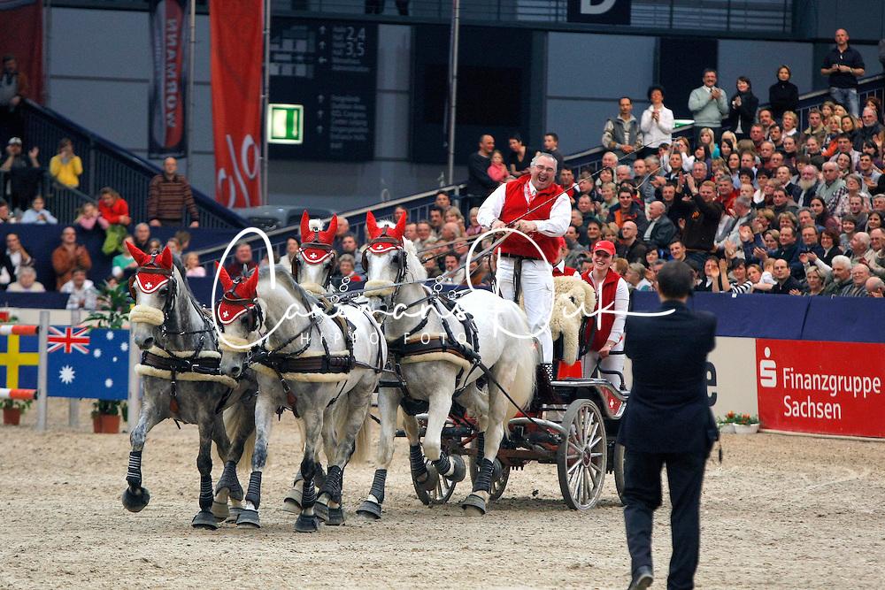 W&uuml;rgler Daniel, (SUI), Eclair DW, Favory Pastora, Generale Erga, Suleika<br /> CAI-W Leipzig 2010<br /> &copy; Hippo Foto - Dirk Caremans