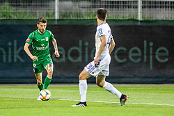 Suljic Asmir of NK Olimpija Ljubljana vs Mitja Viler of NK Maribor during football game between NK Olimpija Ljubljana and NK Maribor in Final Round (18/19)  of Pokal Slovenije 2018/19, on 30th of May, 2014 in Arena Z'dezele, Ljubljana, Slovenia. Photo by Matic Ritonja / Sportida